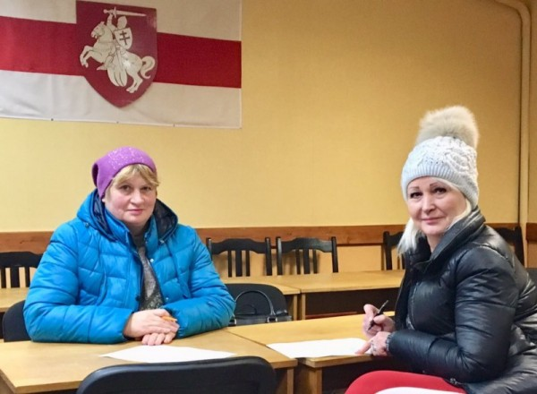 Валентина Найденова и Наталья Мельникова. Фото: Leanid Sudalenka