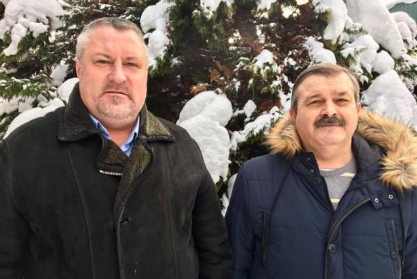 Леонид Судаленко и Евгений Недобуга