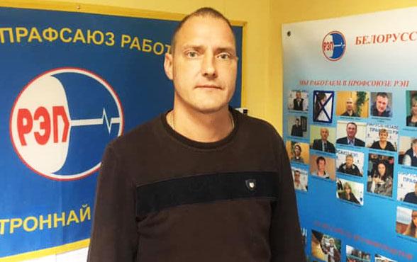 Сергей Лапицкий в офисе РЭП